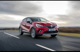 Renault Captur, front action